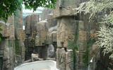 生态餐厅塑石假山