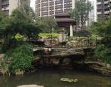 上海法林小区假山瀑布